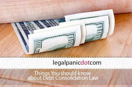 Debt Consolidation Law