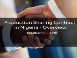 Production Sharing Contract in Nigeria - Overview