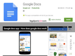 Google docs app - how does google docs work