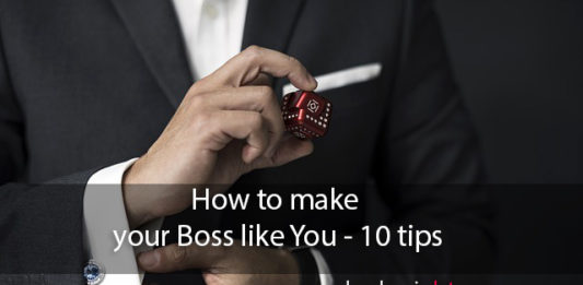 How to make your Boss like You - 10 tips