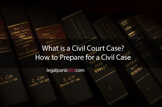 What is a Civil Court Case? How to Prepare for a Civil Case